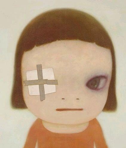 奈良美智绘画作品