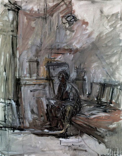 贾科梅蒂绘画作品