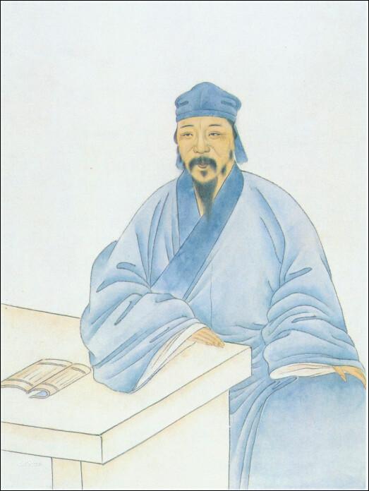 陈洪绶肖像