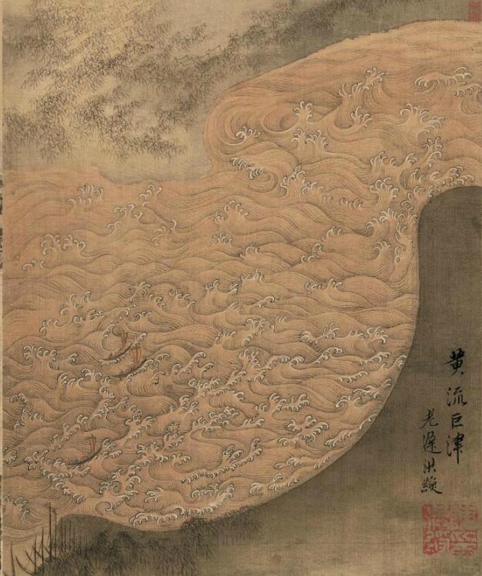 陈洪绶书画作品