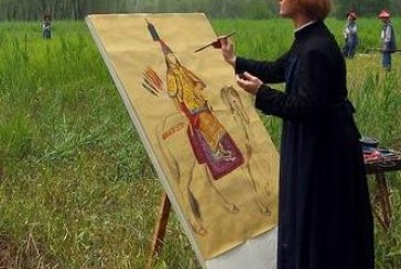 著名意大利中国宫廷画家郎世宁      Giuseppe Castiglione