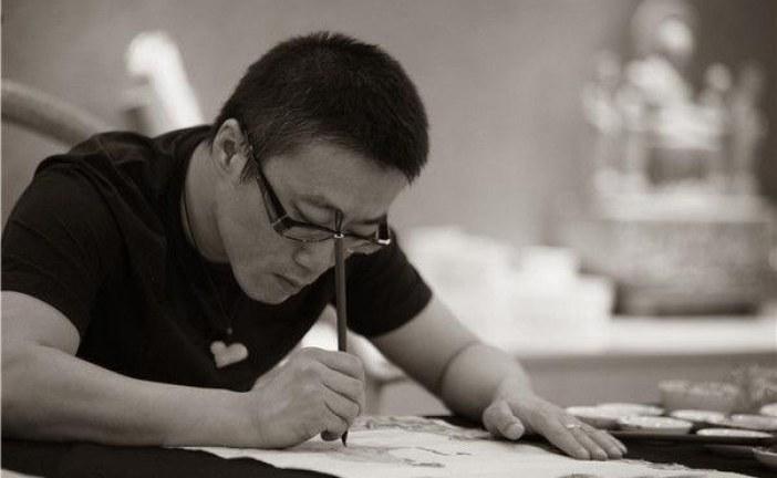 著名画家任重      RenZhong