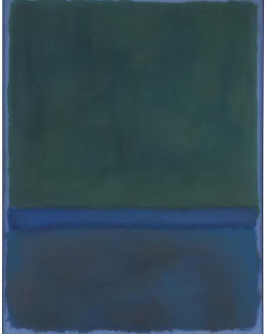 马克·罗斯科《 No。 17 》(1957)