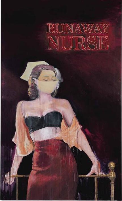 理查德·普林斯,《逃跑的护士》(Runaway Nurse ,2005-6)