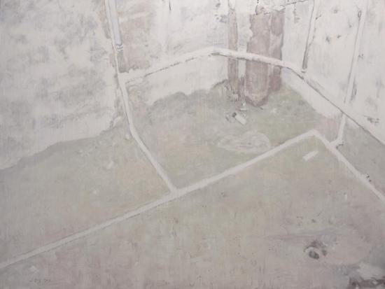 蒋同《遗•忆 之五》 布面油画 150×200cm 2014年