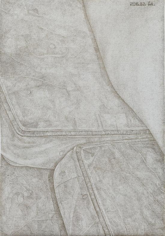汪子博 《2016.02》20x14cm 纸本银针笔 2016年