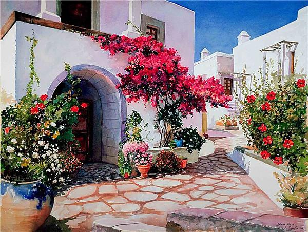 Pantelis Zografos希腊艺术家