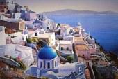 来自希腊的艺术家Pantelis Zografos水彩插画