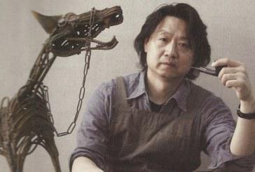 中国天津美术学院画家李旺  Li Wang