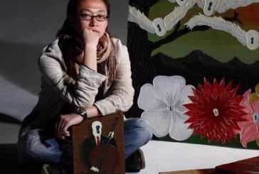 日本画家椿宗亲 Munechika Tsubaki