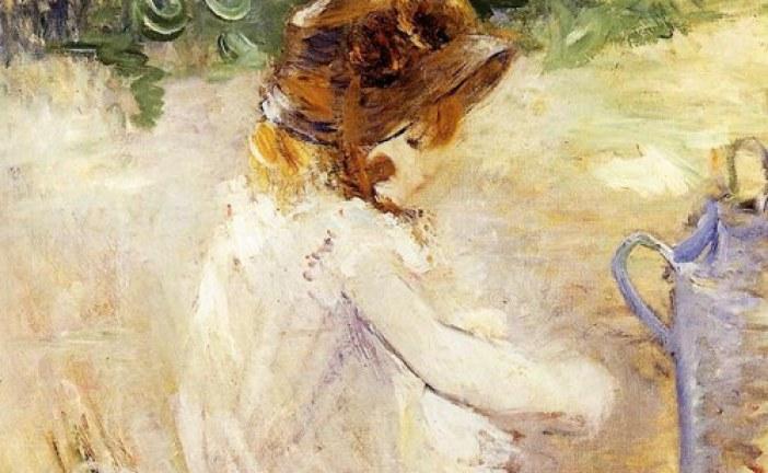 法国近代印象派女画家_贝尔特·莫里索_Berthe Morisot