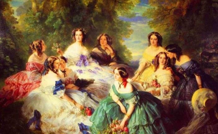 德国古典主义绘画大师弗朗兹·克萨韦尔·温特哈尔特  Franz Xaver