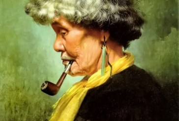 新西兰画家查尔斯·戈尔迪 Charles Goldie