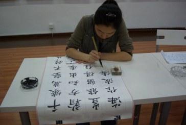 中国欧楷书法家夏梁  Xia  Liang