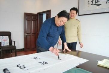 中国书协副主席书法家张业法   Zhang YeFa