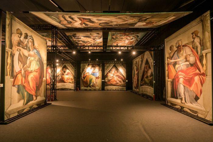 创世纪·米开朗基罗 全球巡展亚洲首展
