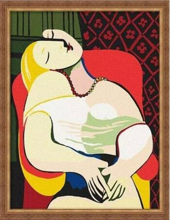 毕加索 《梦》