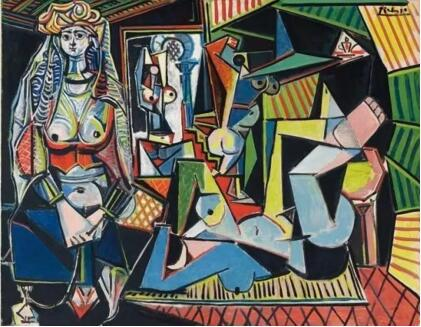 毕加索《阿尔及尔女人(O版)》