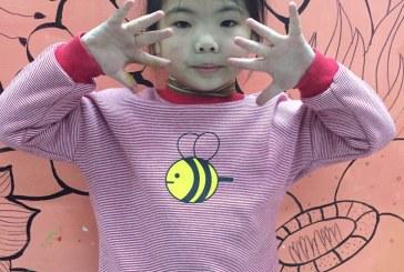 儿童画-我的玩具熊(水粉画)-范天婵-国际青少年艺术家