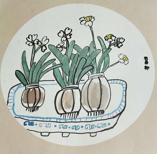 儿童画-中国画-少儿中国画-少儿书画大赛系列图库001