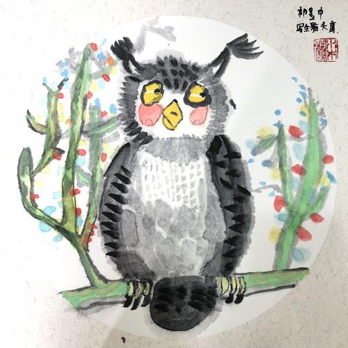 儿童画-中国画-少儿中国画-少儿书画大赛系列图库002