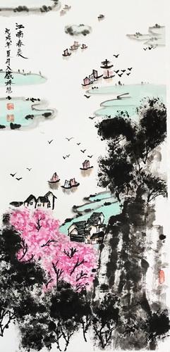 儿童画-中国画-少儿中国画-少儿书画大赛系列图库005