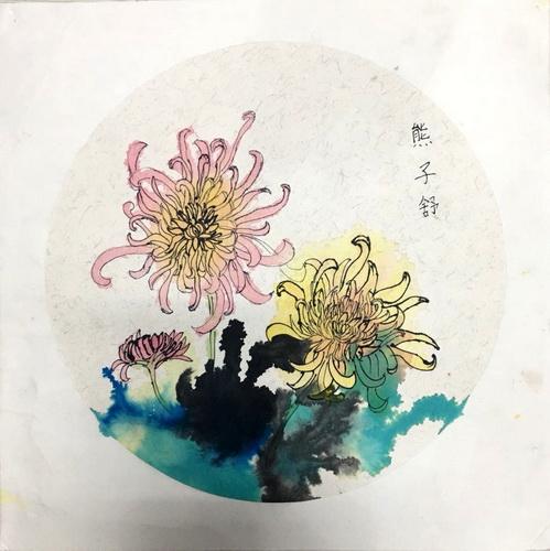 儿童画-中国画-少儿中国画-少儿书画大赛系列图库007