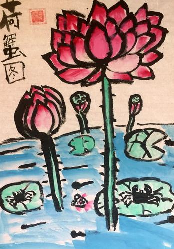 儿童画-中国画-少儿中国画-少儿书画大赛系列图库009