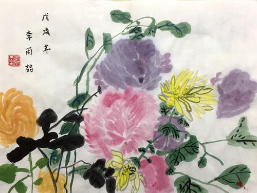 儿童画-中国画-少儿中国画-少儿书画大赛系列图库012
