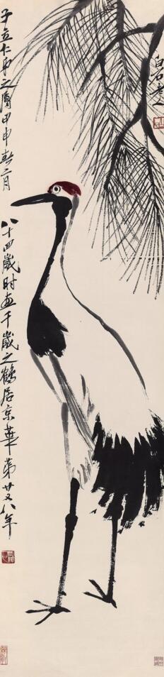 潘天寿《无限风光》以2.875亿元人民币成交