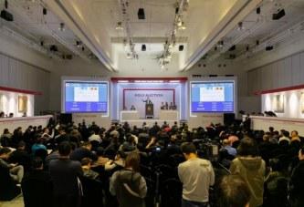 保利秋拍中国古代书画之夜以4.25亿元圆满收槌