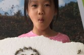 儿童画-早中晚(水粉画)-冯贯艺-国际青少年美术家