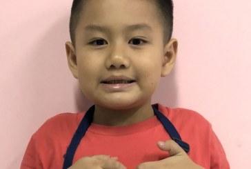 儿童画-桂林山水(水粉画)-曾文潇-国际青少年美术家