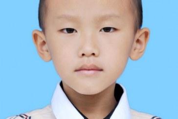 儿童画-山水云间(水粉画)-覃扬洋-国际青少年美术家