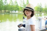 儿童画-  窗外(水彩画)-冯子萱-国际青少年美术家