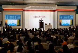 1.78亿港元 赵无极领衔二十世纪及当代艺术晚拍