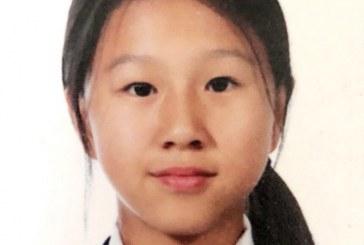 素描画-可爱的小姑娘-刘枫绯-国际青少年美术家_少美联赛
