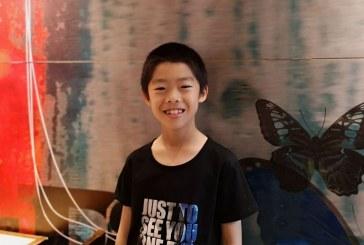 丙烯画-旋转时空-朱奇昊-国际青少年美术家