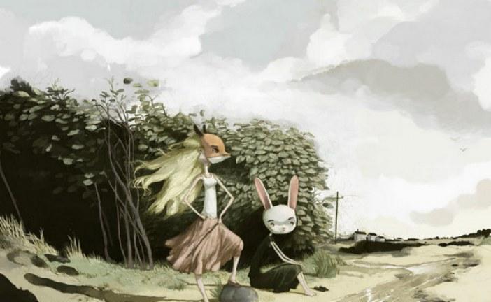墨西哥插画师_Tony Sandoval暗黑风格作品选