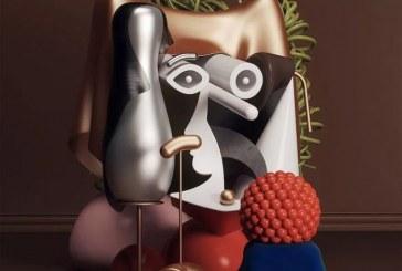 3D抽象形式再现_毕加索的艺术形态
