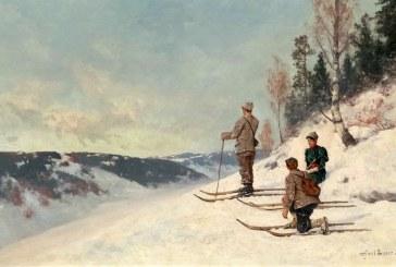 近代挪威油画家_Axel Hjalmar Ender