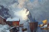 近代挪威画家_Even Ulving_风景油画作品赏析
