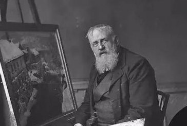 挪威著名风景油画家_弗里茨(约翰弗雷德里克)梭洛_Fredrik(frits johan)Thaulow