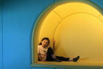 水粉画_小灰猫与鱼_周桉锐_国际青少年美术家_少美联赛