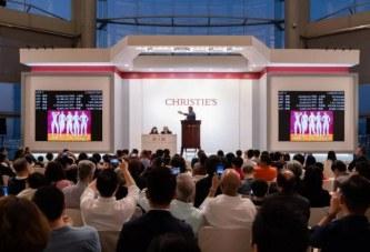10.6亿港元创下佳士得 亚洲晚间拍卖有史以来最高成交额