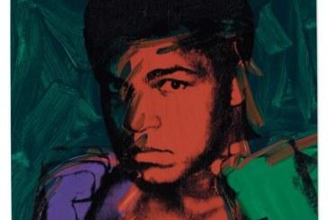 沃霍尔运动员肖像画系列领衔伦敦战后及当代艺术拍卖