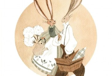 Vanessa Gillings_细腻柔和的水彩插画作品