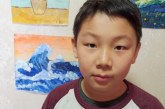 中国画_群虾戏水_冯可_国际青少年美术家_少美联赛