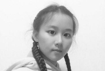 插画_山海经异兽图之朱雀_陈思思_国际青少年美术家_少美联赛