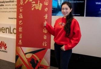描红画金_中国姑娘陈晨宝蕴成功举办首次海外个人画展
